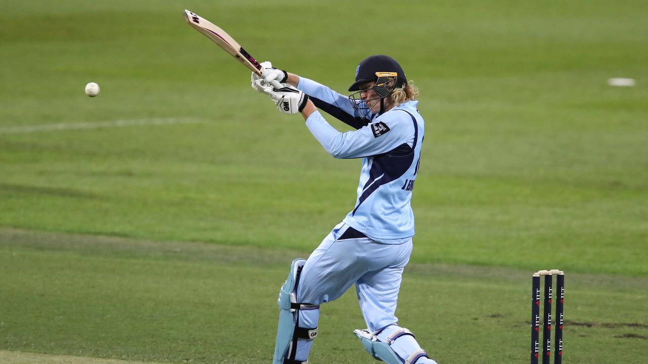 Jack Edwards became the youngest player to score an Australian one-day domestic century against Queensland on Monday.