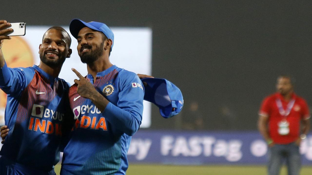 India could not split Shikhar Dhawan and KL Rahul in Mumbai.