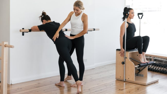 With the right teacher and equipment, Pilates is anything but boring. Image: Supplied