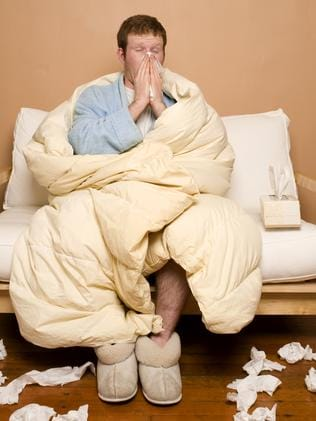 It's catching ... When the US has a bad flu season, Australia has one. Picture: Supplied