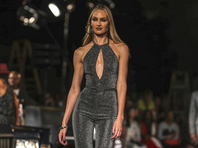 Candice Swanepoel swapped Victoria's Secret for Tommy Hilfiger. Picture: AP