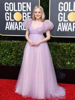 BEVERLY HILLS, CALIFORNIA - JANUARY 05: Dakota Fanning attends the 77th Annual Golden Globe Awards at The Beverly Hilton Hotel on January 05, 2020 in Beverly Hills, California. (Photo by Jon Kopaloff/Getty Images)