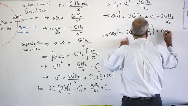 Meet the Queensland teacher making maths about imagination