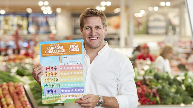 Celebrity chef Curtis Stone has created recipes to support the campaign. Picture: Supplied