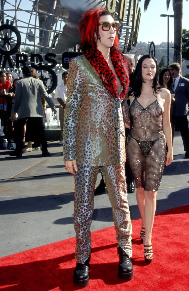 The star now says she wanted to feel like a 'gladiator' in the outfit. Picture: Ron Galella/WireImage