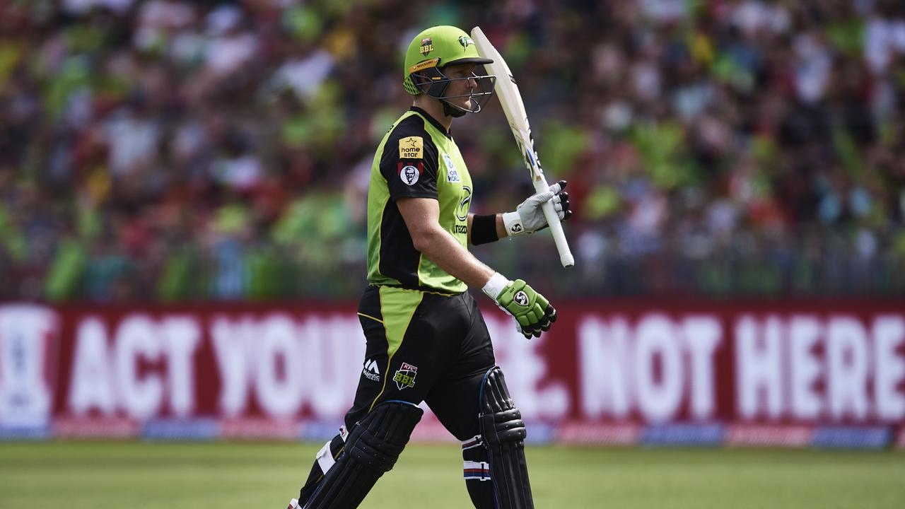 Shane Watson made 68 against the Adelaide Strikers. Photo: Brett Hemmings/Getty Images.