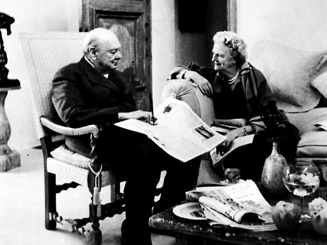 Winston And Clementine Churchill S Darkest Hours Daily