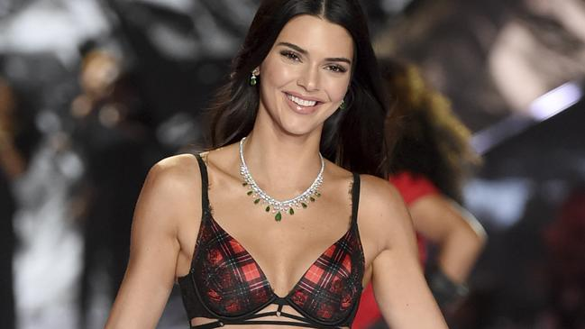 be6254f11 Kendall Jenner walks the runway during the 2018 Victoria s Secret Fashion  Show at Pier 94 on