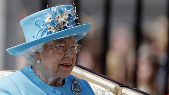 The celebrations marked the Queen's 92nd birthday celebrations. Picture: AP