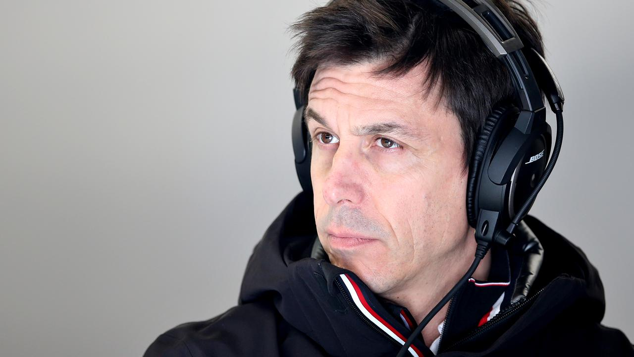 Mercedes GP Executive Director Toto Wolff.