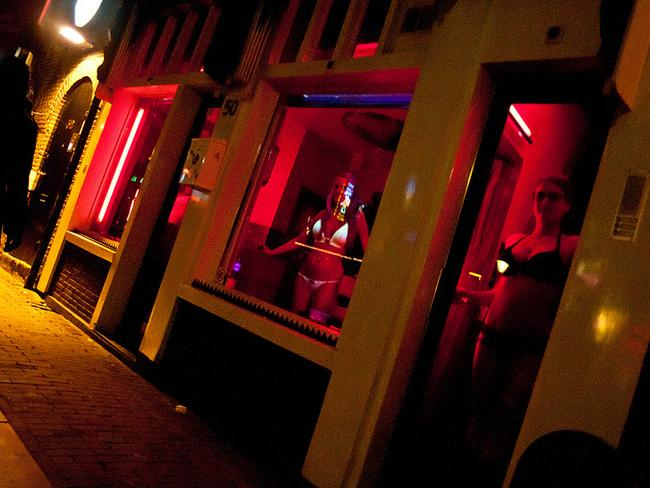 Amsterdam's red-light district is one of the most famous in the world.