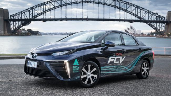 The Toyota Mirai is held back by the lack of infrastructure.