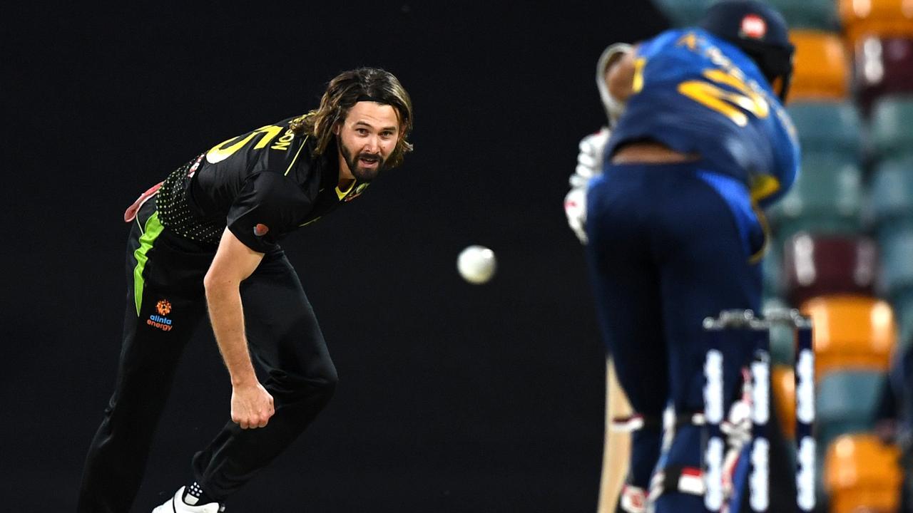 Kane Richardson always asked questions of the Sri Lankan batting order.