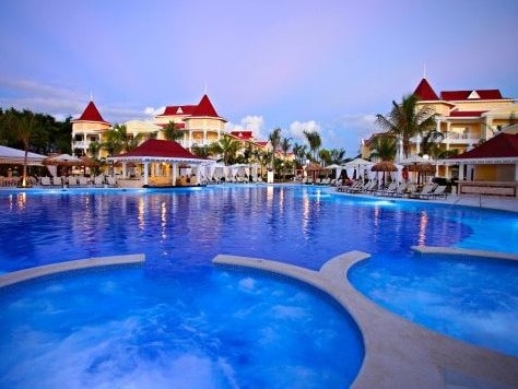 The Luxury Bahia Principe Bouganville, where Miranda Schaup-Werner died. It and an adjacent hotel, where a couple died five days later, are part of the Bahia Principe resort group. Picture: TripAdvisor traveller