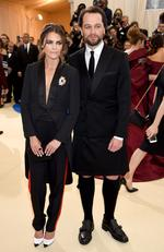 "Keri Russell and Shane Deary attend the ""Rei Kawakubo/Comme des Garcons: Art Of The In-Between"" Costume Institute Gala at Metropolitan Museum of Art on May 1, 2017 in New York City. Picture: Getty"