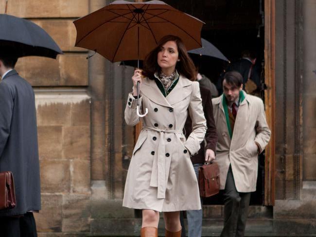 Rose Byrne portrayed genetics expert Dr Moira MacTaggert in X-Men: First Class.