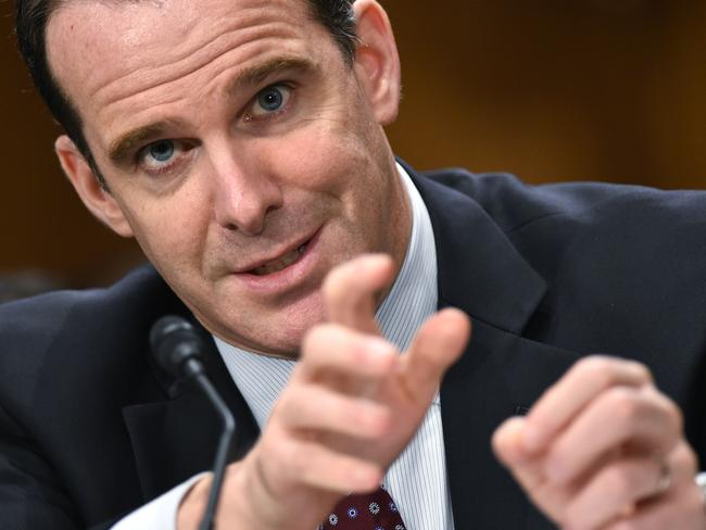 "ISIS expert Brett McGurk told a global committee that Mr Ttrump's decision to withdraw from Syria in December 2018 ""bewildered"" allies. Picture: AFP"