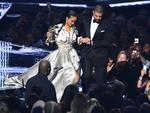 Drake escorts Rihanna during the 2016 MTV Video Music Awards at the Madison Square Garden in New York on August 28, 2016. Picture: AFP