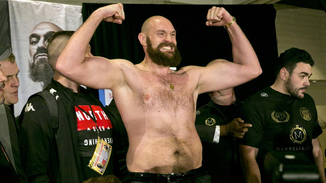 Former middleweight world champion Billy Joe Saunders has placed a massive bet on Tyson Fury to upset Deontay Wilder. (AP Photo/Damian Dovarganes)