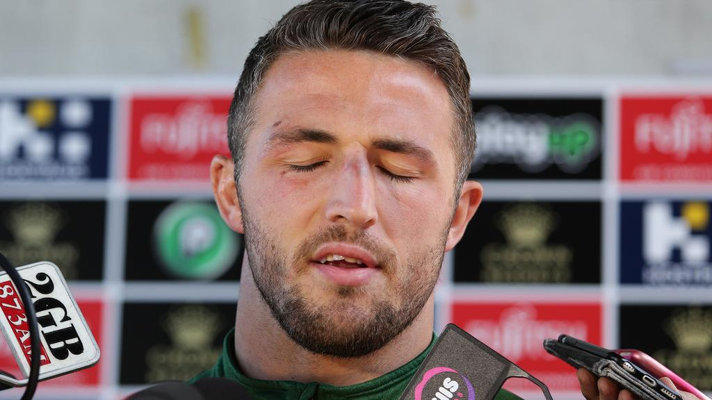 Sam Burgess Rabbitohs Sext Scandal Adelaide Now