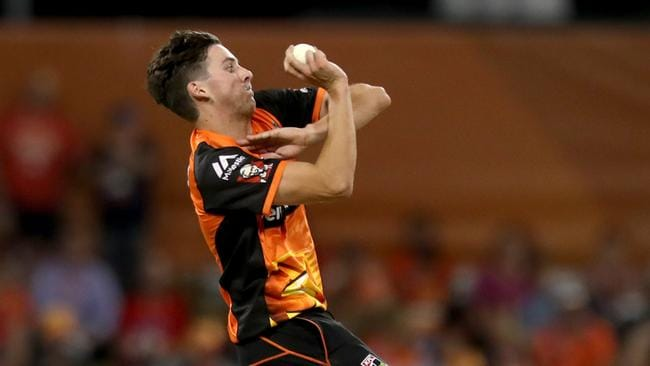 Jhye Richardson will be a key figure for Perth Scorchers with Jason Behrendorff and Andrew Tye sidelined.