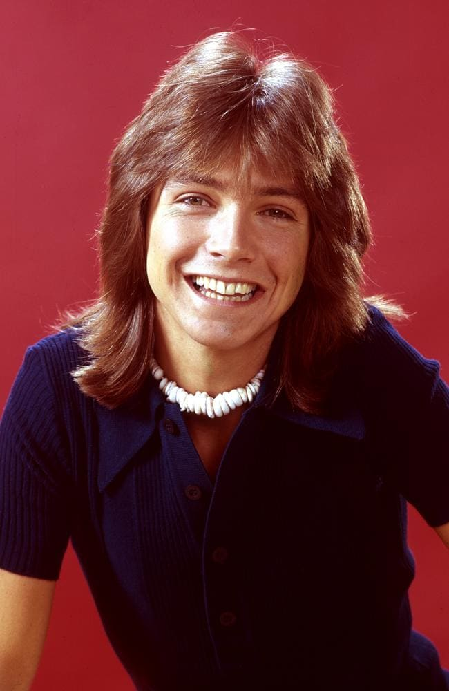 David Cassidy rocketed to fame as Keith in the hit 70s show  <i>The Partridge Family</i>. Picture: ABC Photo Archives/ABC via Getty Images