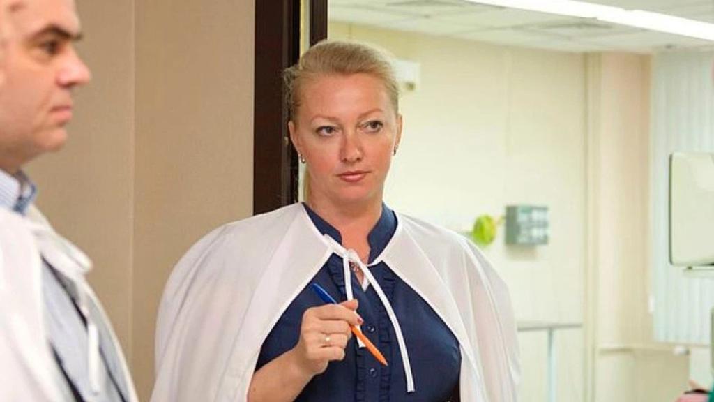 Dr Nepomnyashchaya, 47, runs the Krasnoyarsk Regional Hospital for War Veterans. Picture: Vestnick.icdc.