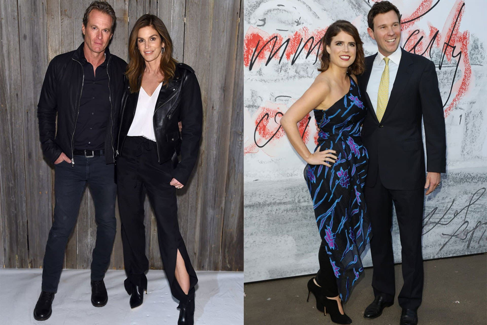 Cindy Crawford and Princess Eugenie are double dating