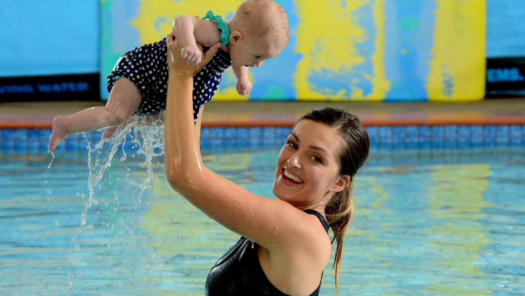 Infant Swimming Lessons So Popular Classes Doubled In First Year Messenger