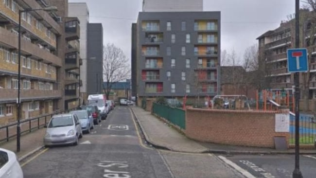 Amy, a former Koonung Secondary College student, was found dead at the apartment she shared with the graphic designer near the trendy Shoreditch neighbourhood. Picture: Google Maps Source: Supplied