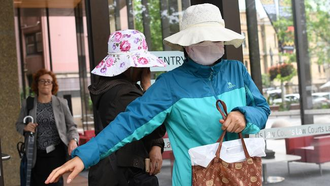 Family of Yueqiong Fu appeared at court during her bail hearing in October. Picture: David Moir