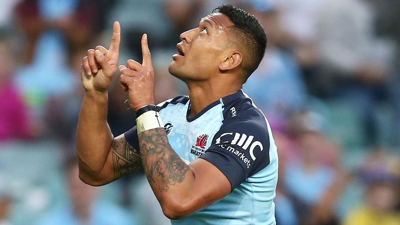 Israel Folau has escaped punishment over his public comments condemning homosexuality.