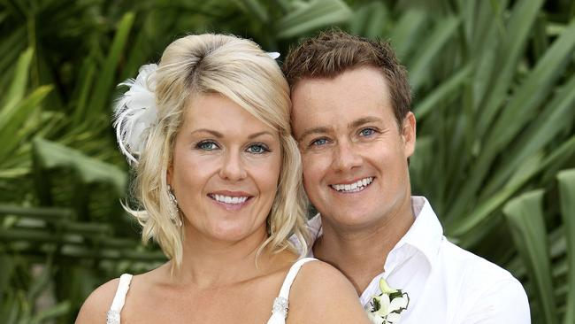 Denyer and Chezzi were married in 2010.