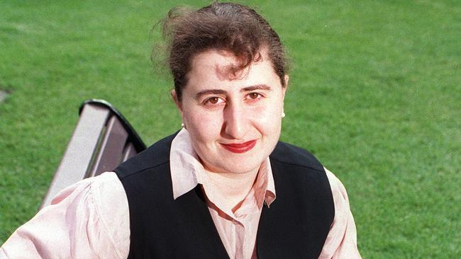 Gladys Berejiklian pictured when she was elected president of the NSW Young Liberals.