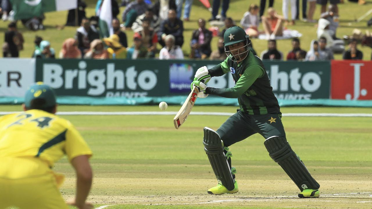 Pakistan's Fakhar Zaman scored 91 off 46 balls.