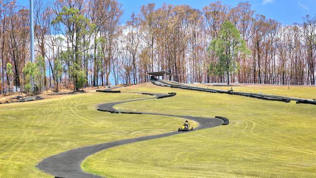 Go Kart track, woooop.