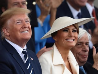 Trump reckons a 93-year-old can handle his wife. Source: Getty Images