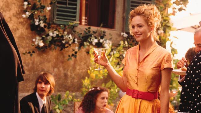 Life goal: Be Diane Lane in 'Under the Tuscan Sun'.