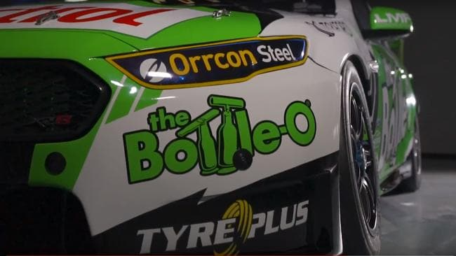 Mark Winterbottom's 2018 The Bottle-O Racing Team Falcon revealed.