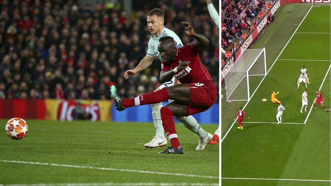 Sadio Mane and Joel Matip bad misses for Liverpool.