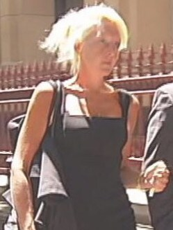 Nicola Gobbo arriving at court.