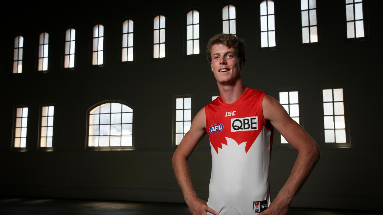 Nick Blakey is set to feature up forward for the Swans in his first season