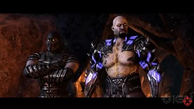 Mortal Kombat X - game trailer
