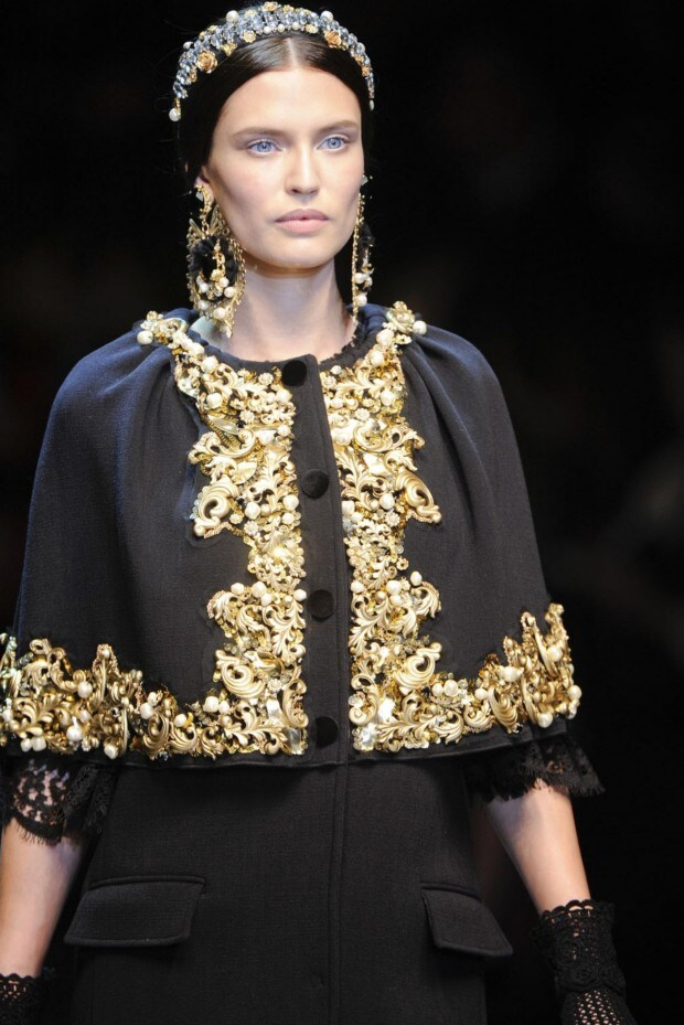 Dolce & Gabbana Ready-to-Wear A/W 2012/13 details gallery