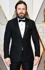 Best Actor nominee Casey Affleck (Manchester by the Sea) attends the 89th Annual Academy Awards. Picture: Frazer Harrison/Getty Images