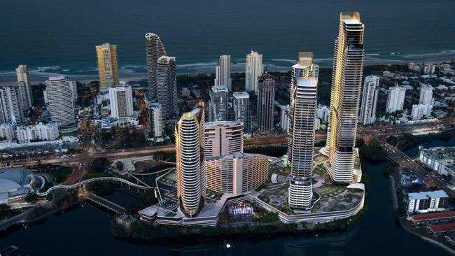 Gold Coast development: Construction of new $400m hotel and
