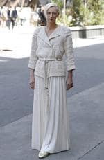 Tilda Swinton attends the Chanel Haute Couture Fall/Winter 2017-2018 show as part of Haute Couture Paris Fashion Week on July 4, 2017 in Paris, France. Picture: AFP