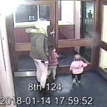Lexi is seen in her final moments on harrowing CCTV. Picture CPS
