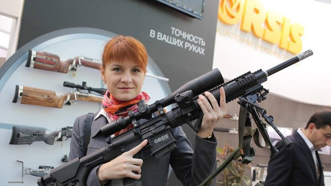 Maria Butina allegedly has close ties to the NRA.