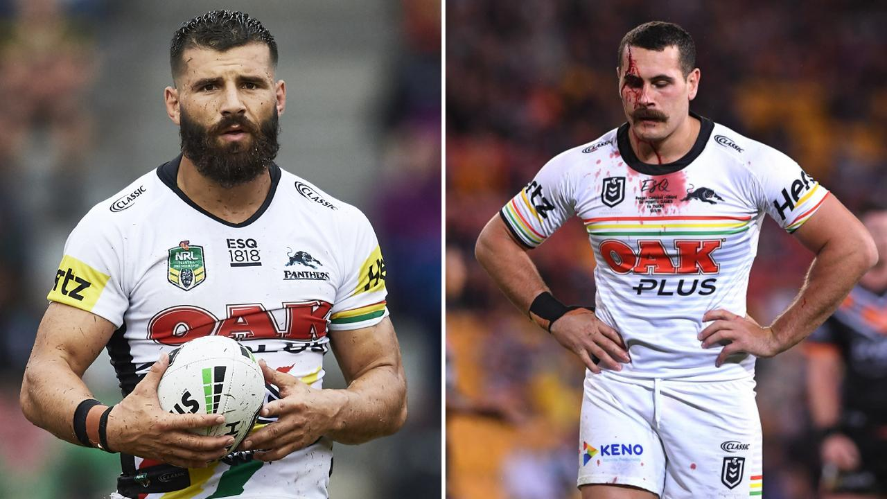 Panthers Josh Mansour and Reagan Campbell-Gillard have been axed